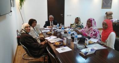 توقيع بروتوكول التعاون مع اتحاد المرأة السودانية بولاية الخرطوم