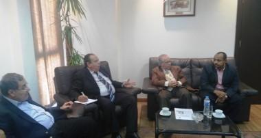 زيارة مدير عام الشئون الإدارية والمالية بوزارة التنمية البشرية والعمل – ولاية الخرطوم